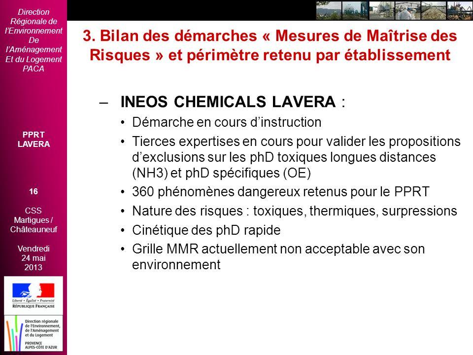 INEOS CHEMICALS LAVERA :