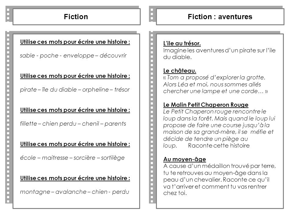 Fiction Fiction : aventures