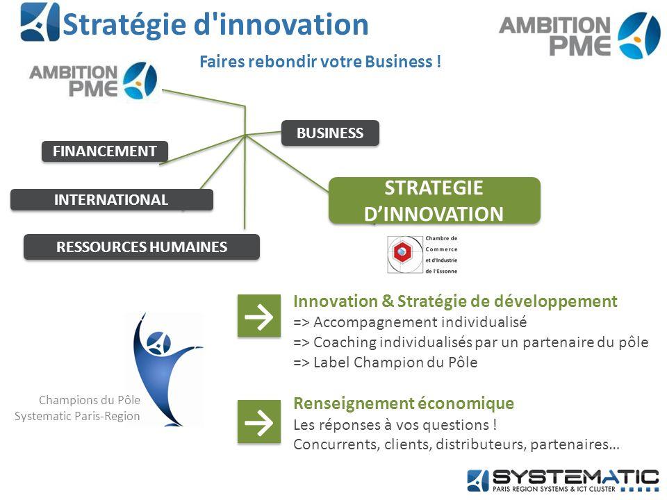 Stratégie d innovation