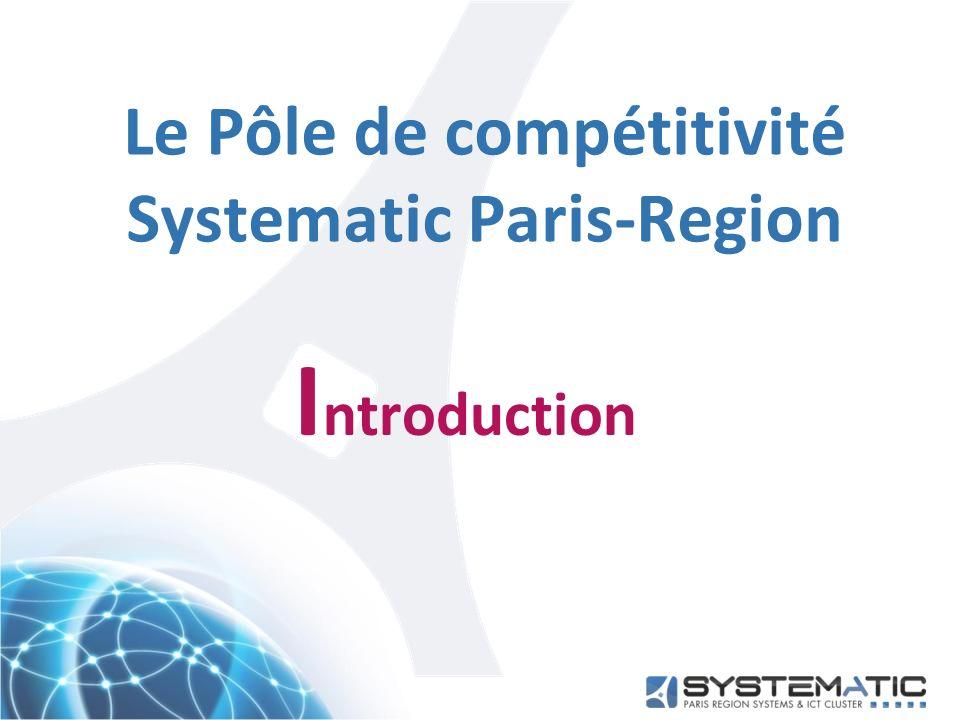 Le Pôle de compétitivité Systematic Paris-Region