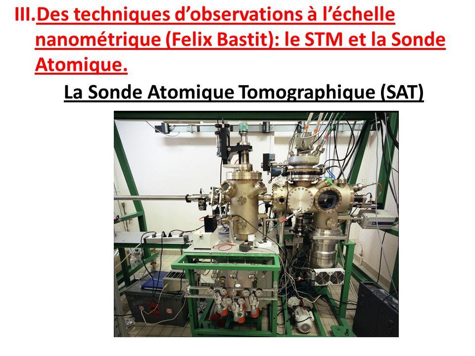 La Sonde Atomique Tomographique (SAT)
