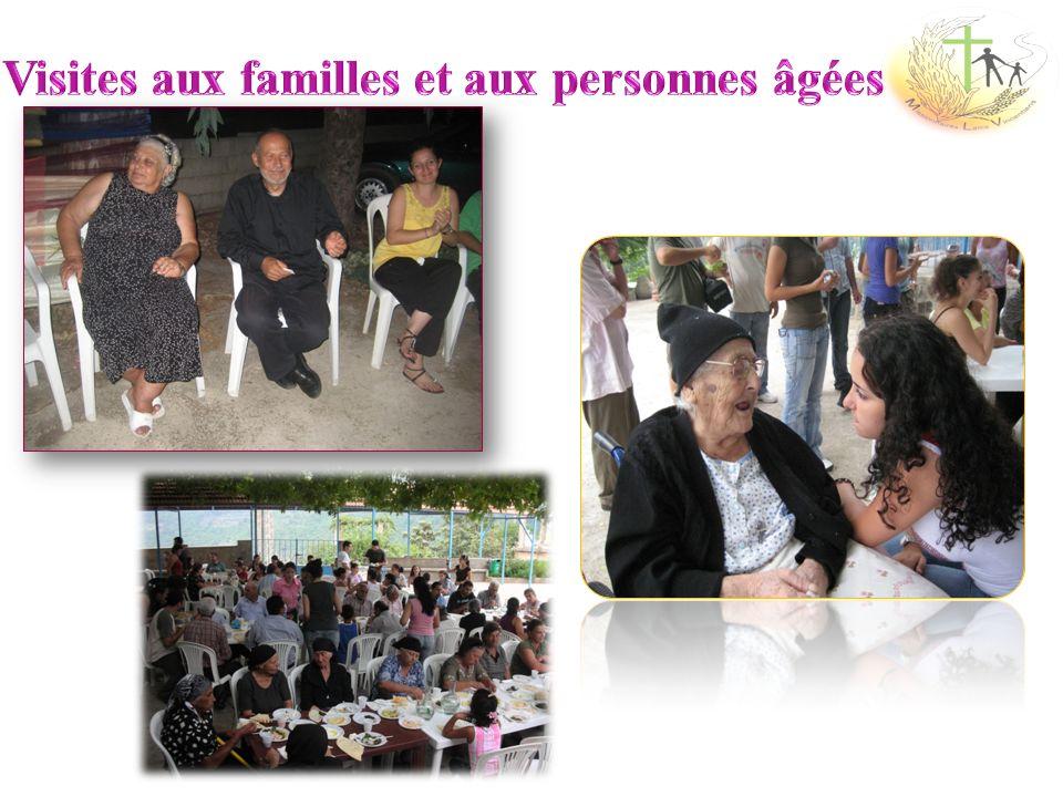 Visites aux familles et aux personnes âgées