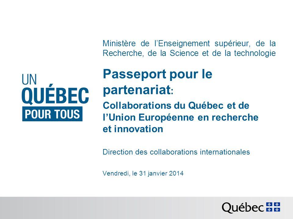 Passeport pour le partenariat: