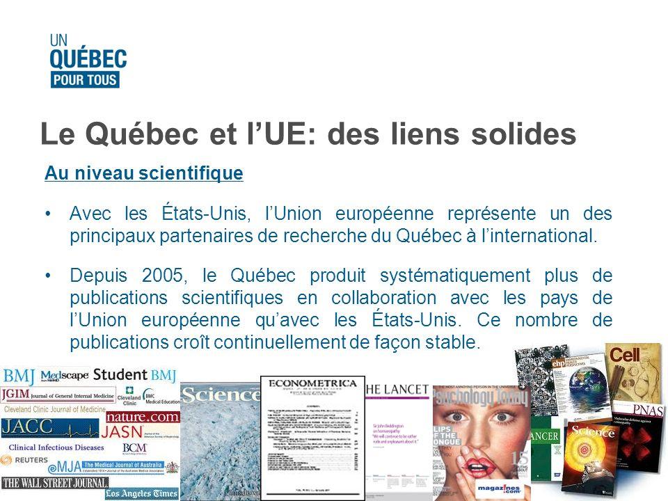 Le Québec et l'UE: des liens solides
