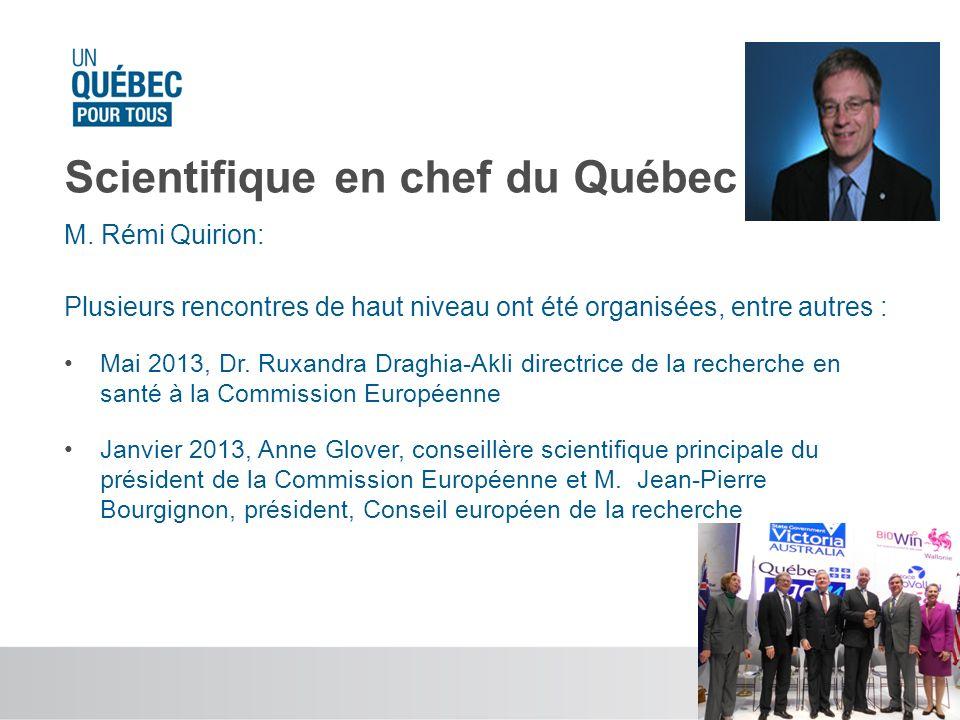 Scientifique en chef du Québec