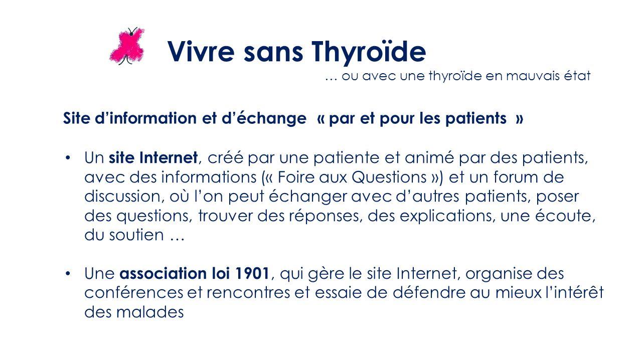 Site d'information et d'échange « par et pour les patients »