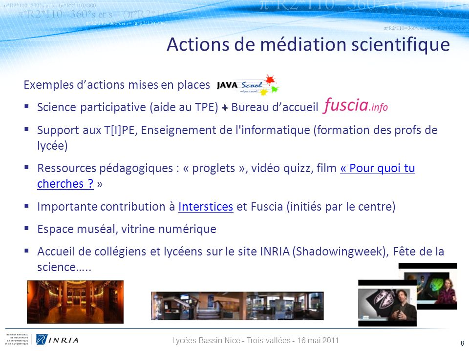 Lycées Bassin Nice - Trois vallées - 16 mai 2011