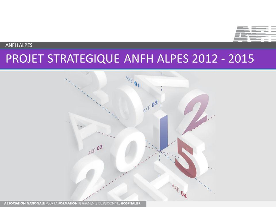 PROJET STRATEGIQUE ANFH ALPES 2012 - 2015