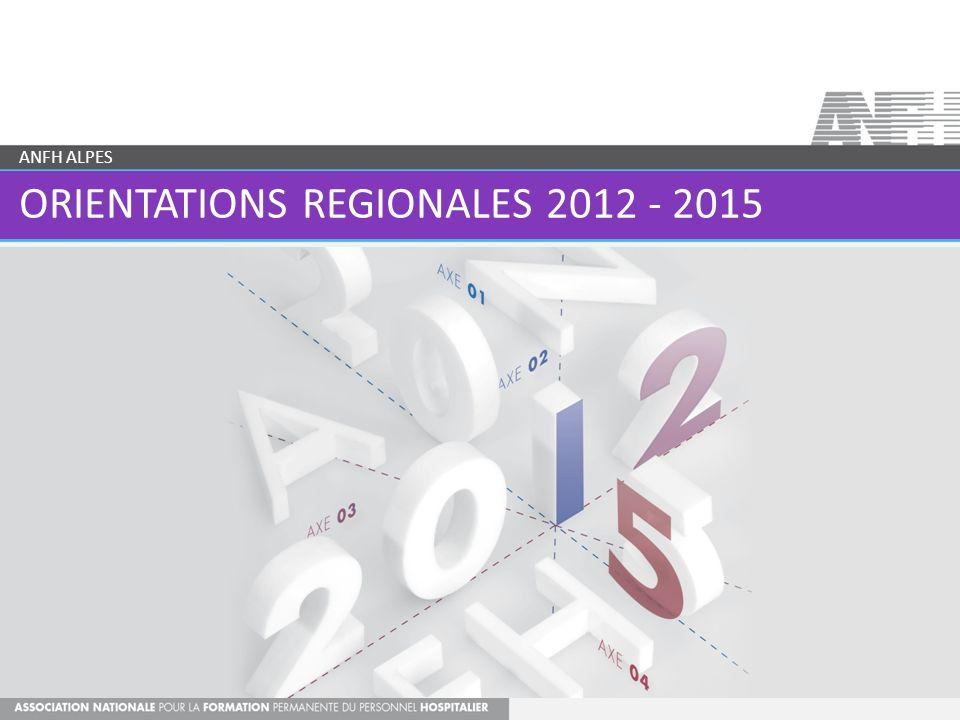 ORIENTATIONS REGIONALES 2012 - 2015