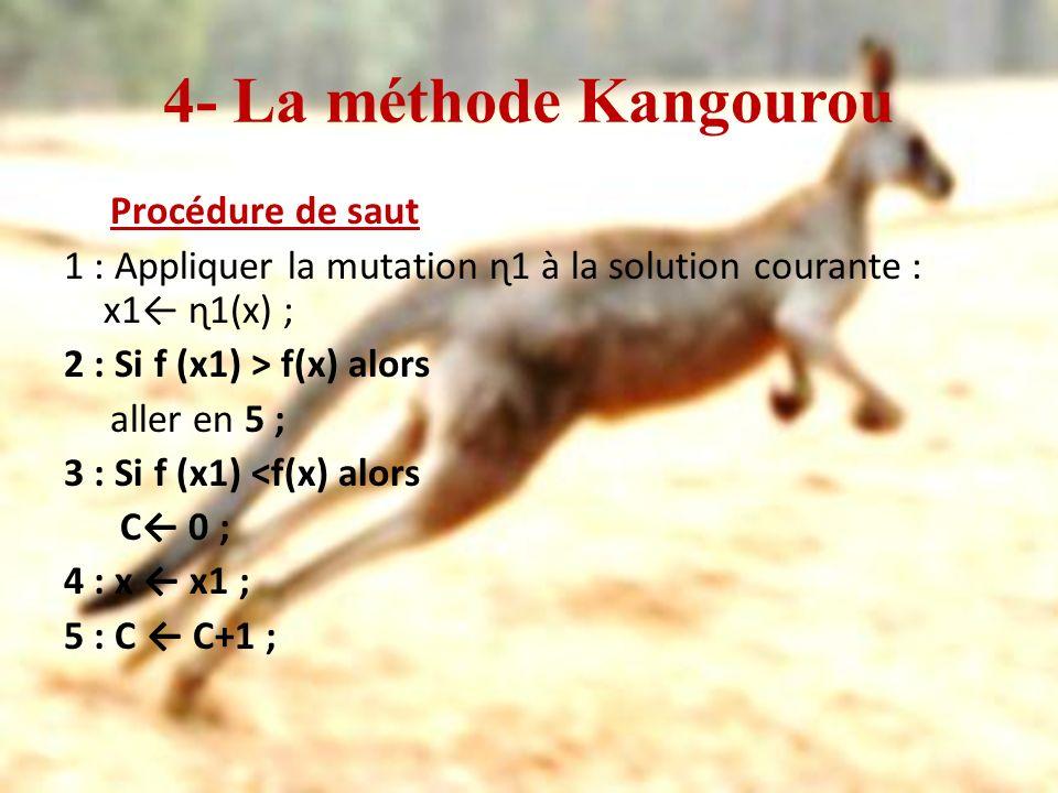 4- La méthode Kangourou