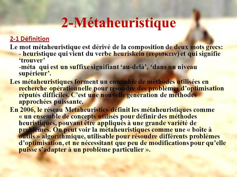 2-Métaheuristique