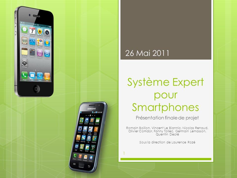 Système Expert pour Smartphones
