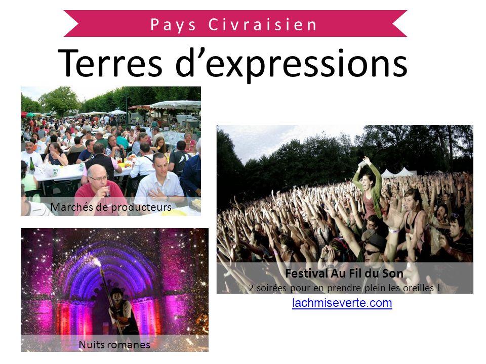 Terres d'expressions Pays Civraisien Festival Au Fil du Son