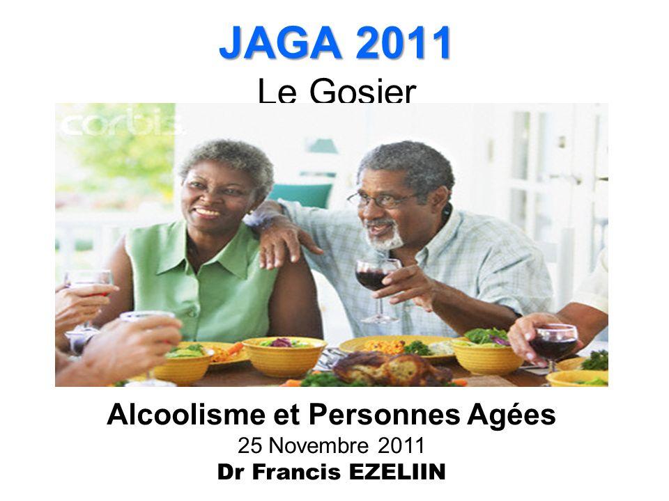 Alcoolisme et Personnes Agées