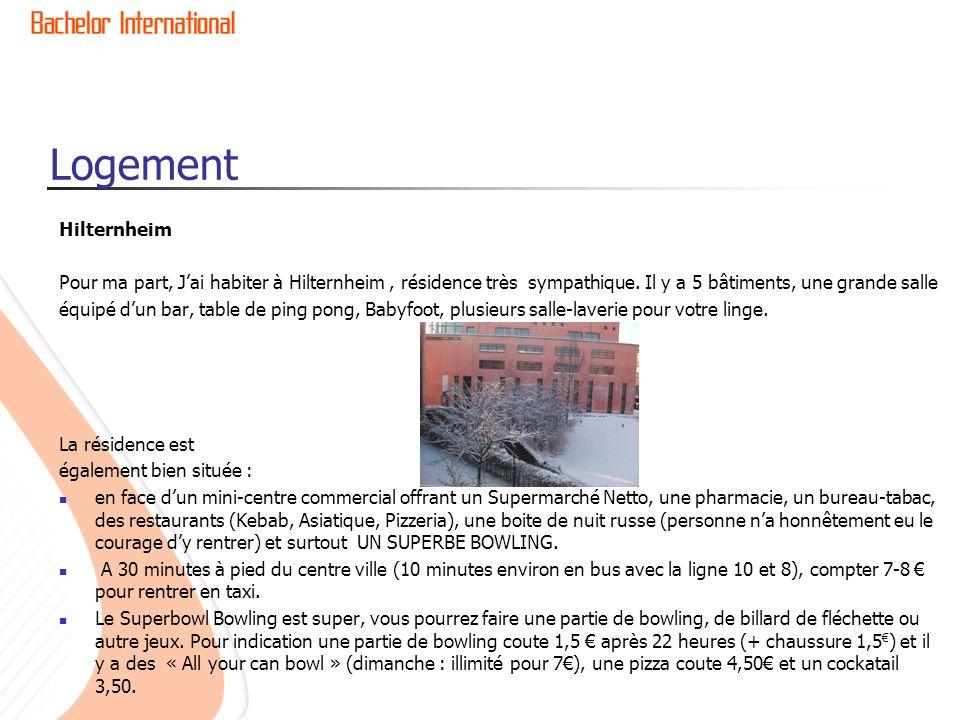 Logement Hilternheim. Pour ma part, J'ai habiter à Hilternheim , résidence très sympathique. Il y a 5 bâtiments, une grande salle.