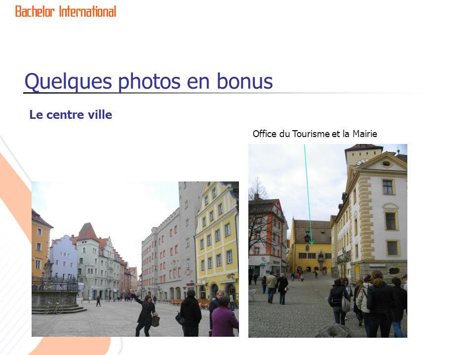 Quelques photos en bonus