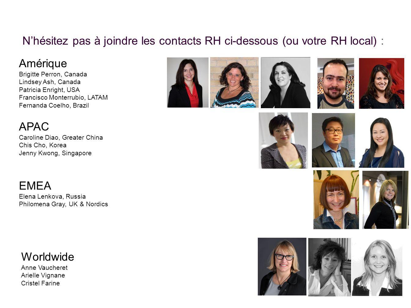 N'hésitez pas à joindre les contacts RH ci-dessous (ou votre RH local) :