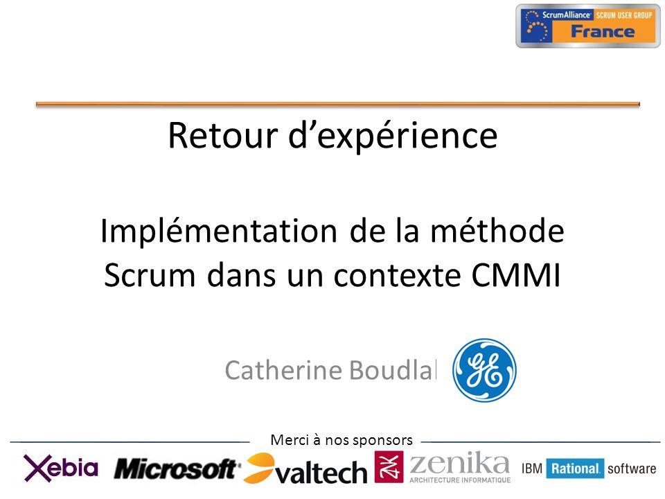Retour d'expérience Implémentation de la méthode Scrum dans un contexte CMMI
