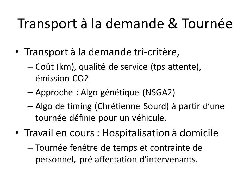 Transport à la demande & Tournée