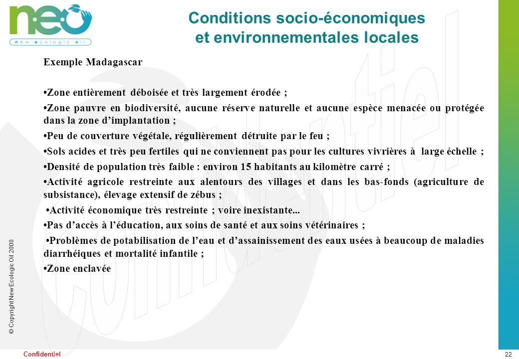Responsabilité Sociale Economique et Environnementale du projet
