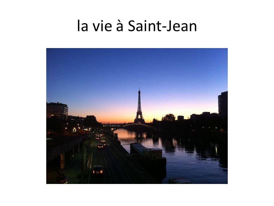 la vie à Saint-Jean