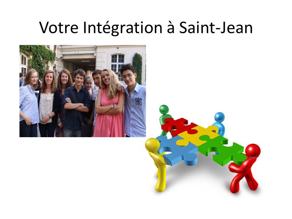 Votre Intégration à Saint-Jean
