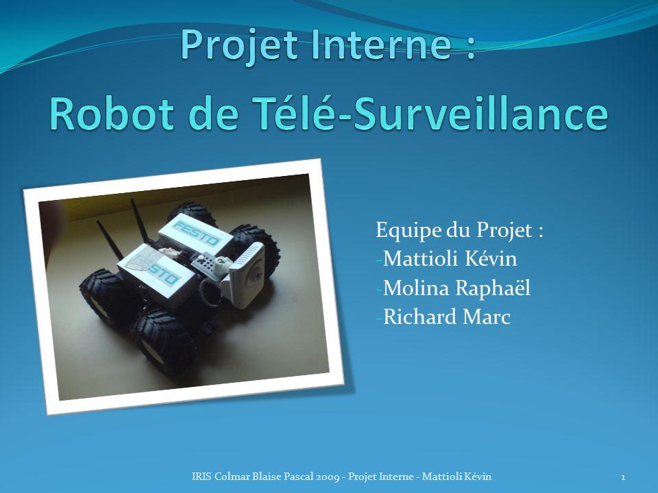 Robot de Télé-Surveillance