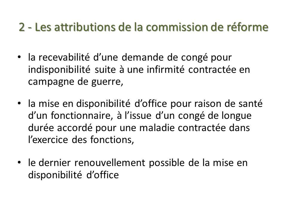Les rencontres thematiques du service juridique ppt - Disponibilite d office pour raison de sante ...