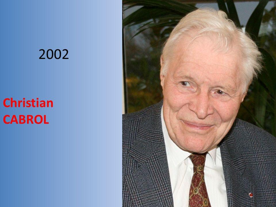 2002 Christian CABROL