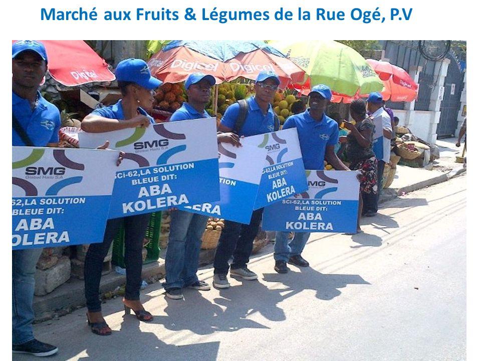 Marché aux Fruits & Légumes de la Rue Ogé, P.V