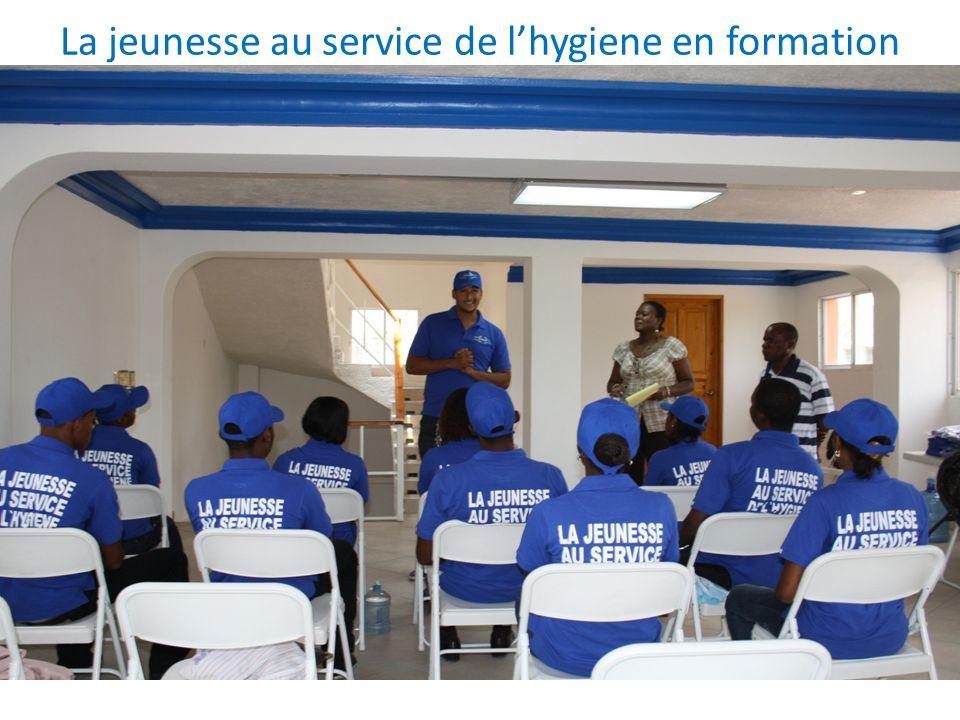 La jeunesse au service de l'hygiene en formation