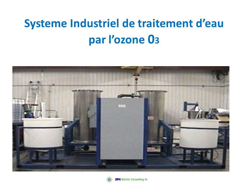 Systeme Industriel de traitement d'eau par l'ozone 03