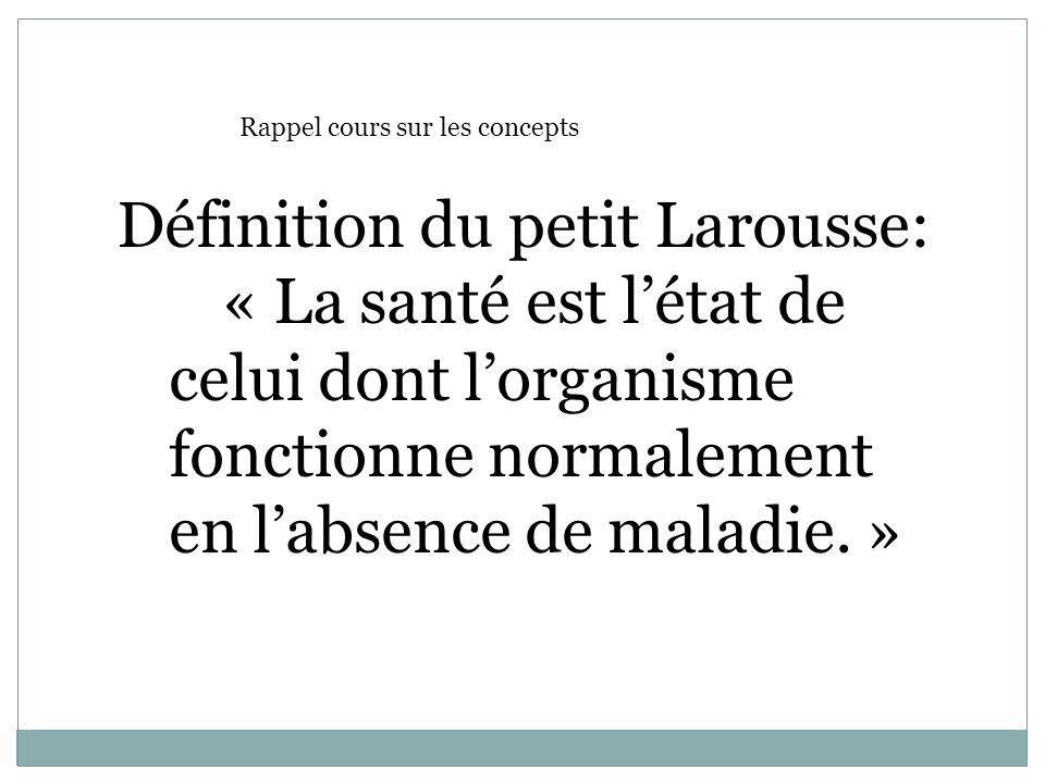 Définition du petit Larousse: