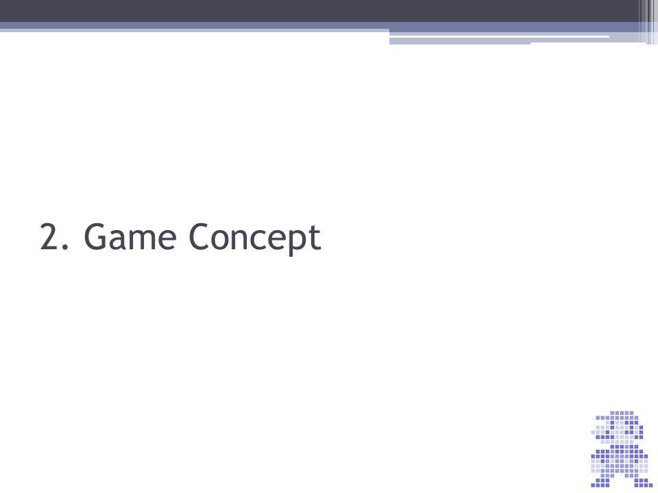 2. Game Concept Qu'est-ce que vous mettriez dans un Game Concept