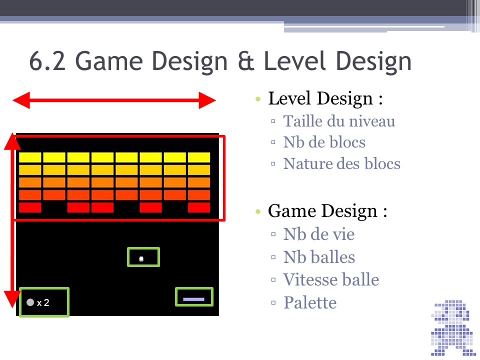 6.2 Game Design & Level Design