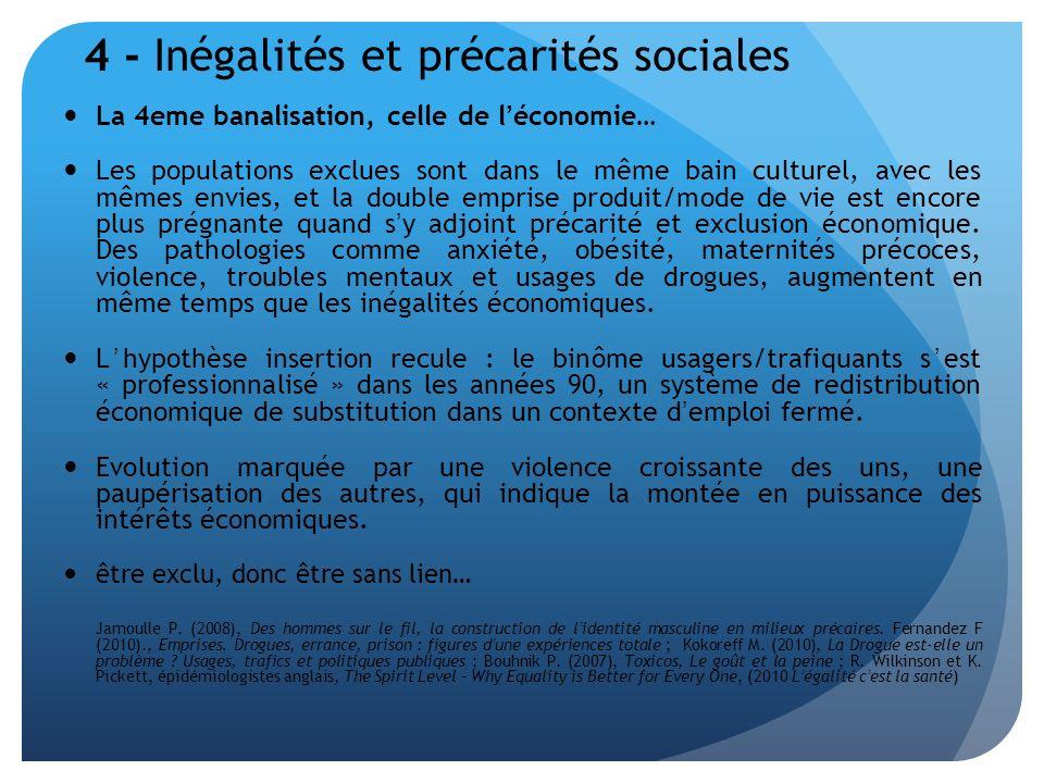4 - Inégalités et précarités sociales