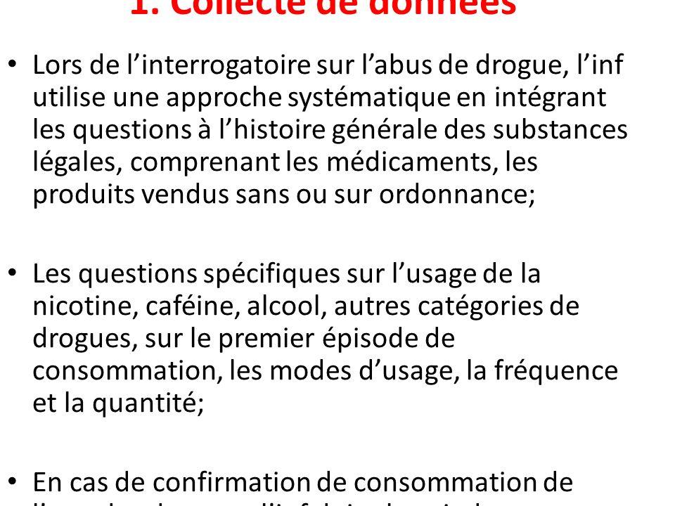 1. Collecte de données