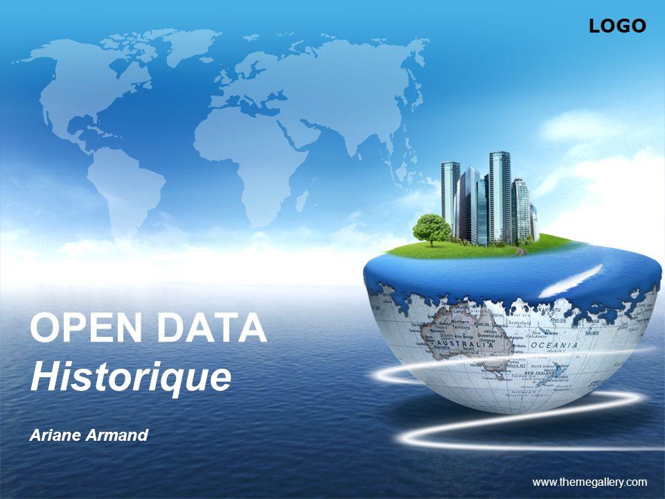 OPEN DATA Historique Ariane Armand www.themegallery.com
