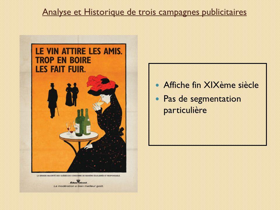 Analyse et Historique de trois campagnes publicitaires
