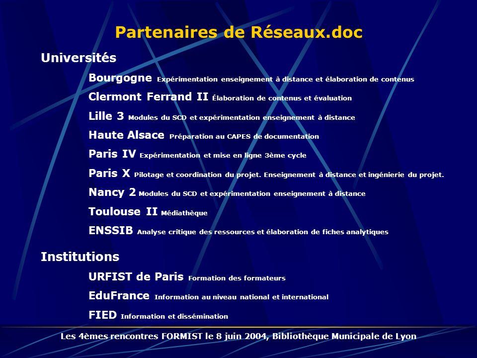 Partenaires de Réseaux.doc