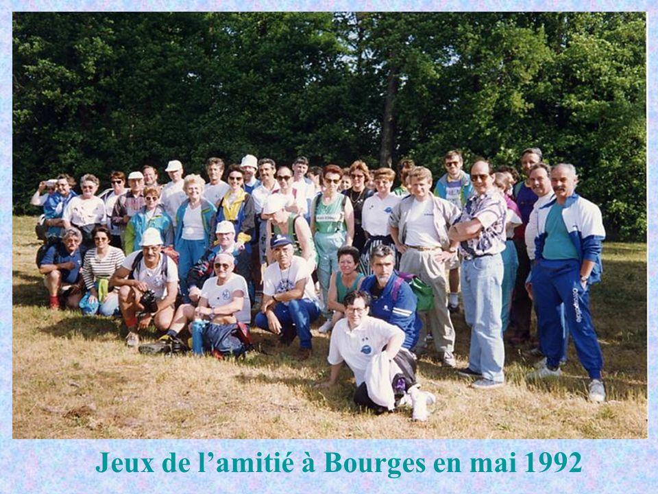 Jeux de l'amitié à Bourges en mai 1992