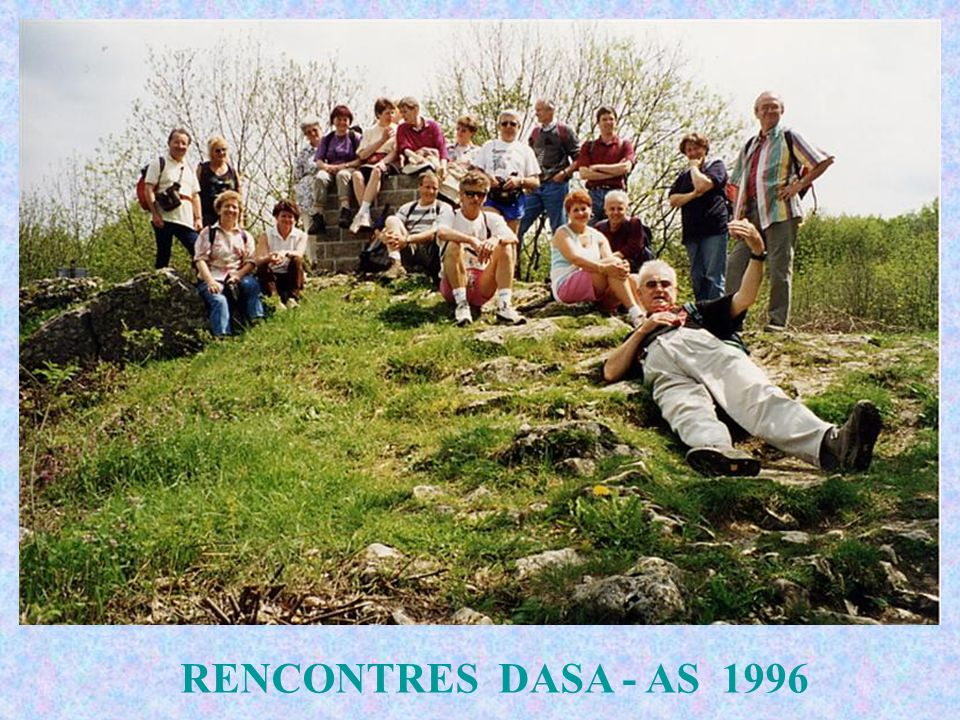 RENCONTRES DASA - AS 1996
