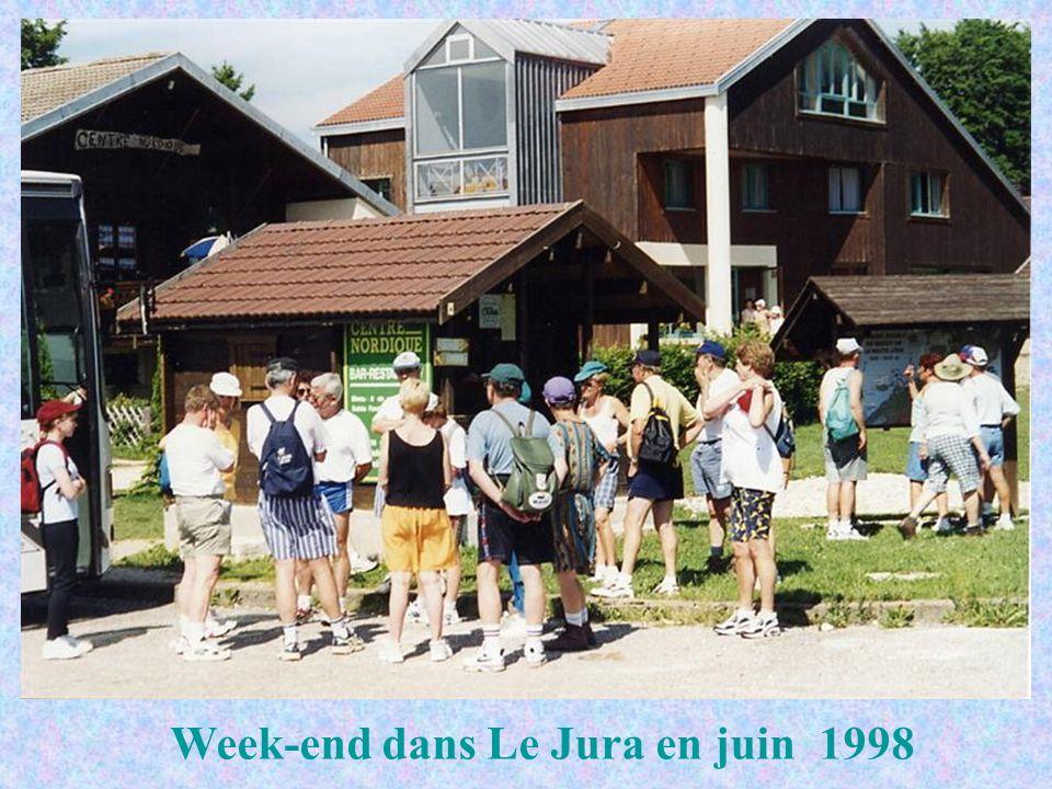 Week-end dans Le Jura en juin 1998