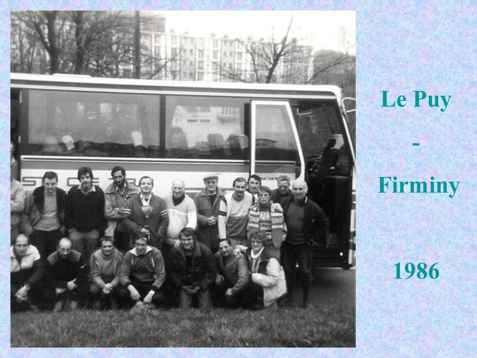 Le Puy - Firminy 1986