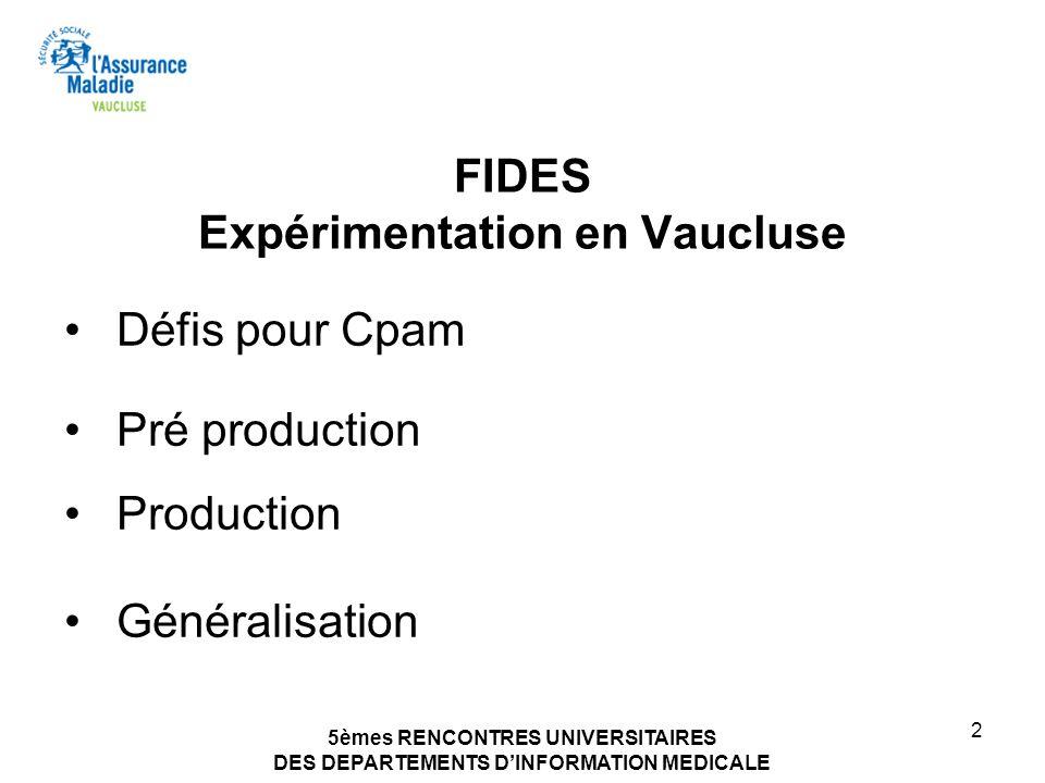 FIDES Expérimentation en Vaucluse