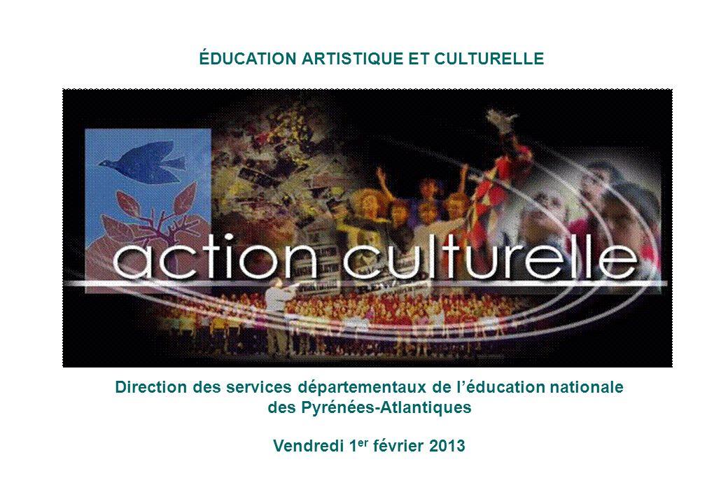L'animation départementale de l'EAC