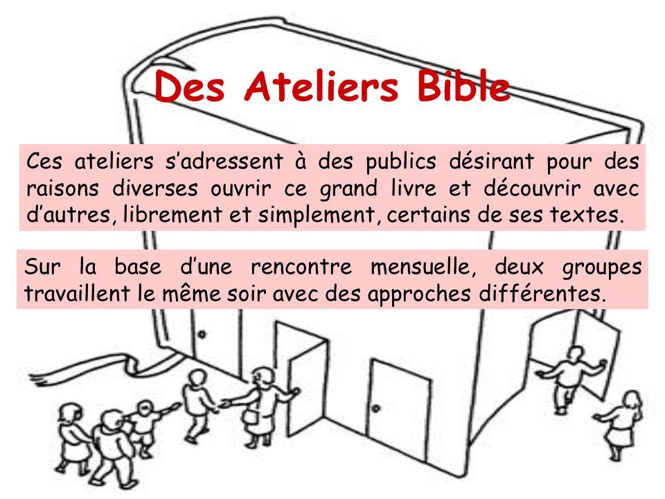 Des Ateliers Bible
