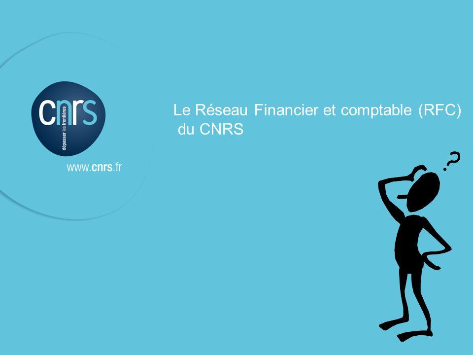 Le Réseau Financier et comptable (RFC)