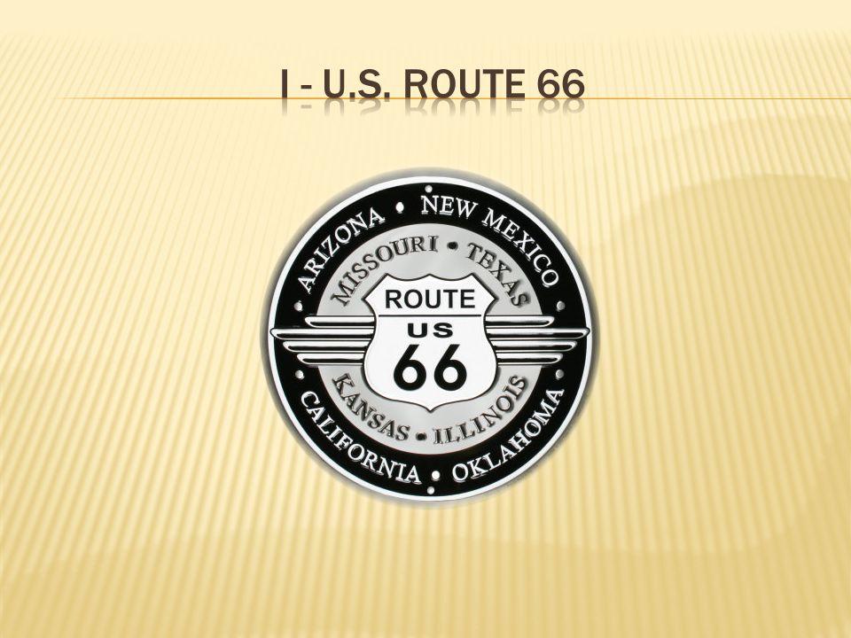 I - U.S. Route 66