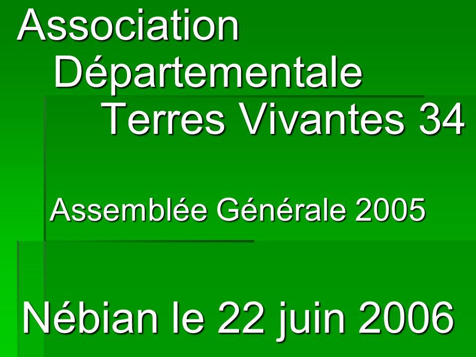 Association Départementale Terres Vivantes 34